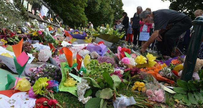 Yeni Zelandada terör saldırısı kurbanları anıldı