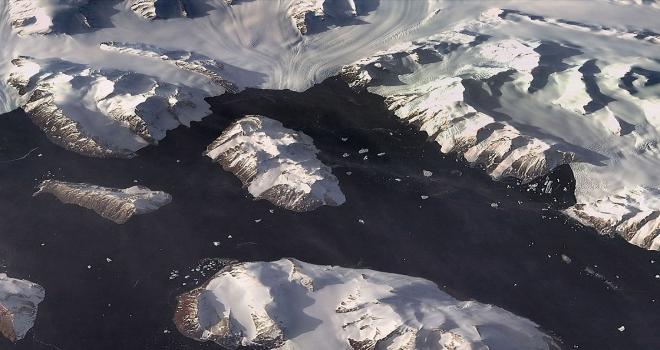Antarktikada Türk üssünün bulunduğu adaya RASAT merceği
