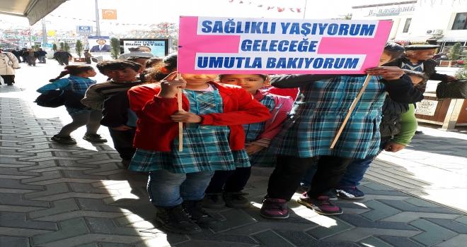 Beypazarında öğrenciler semt pazarını gezdi