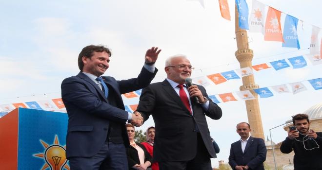 Avanosta AK Parti mitingi
