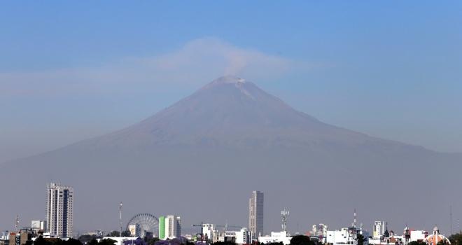 Meksikadaki Popocatepetl Yanardağı için alarm seviyesi yükseltildi