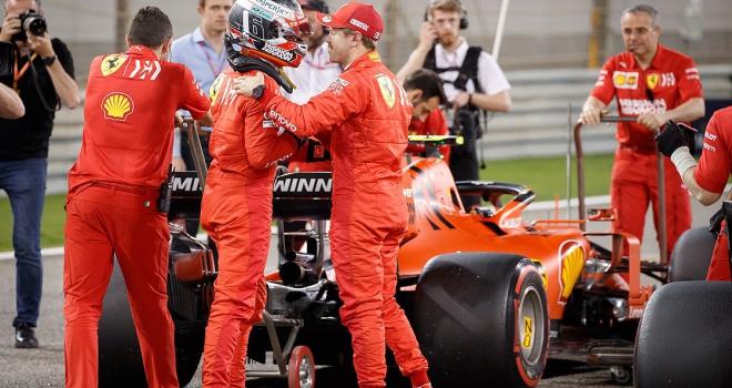 Bahreynde pole pozisyonu Leclercin