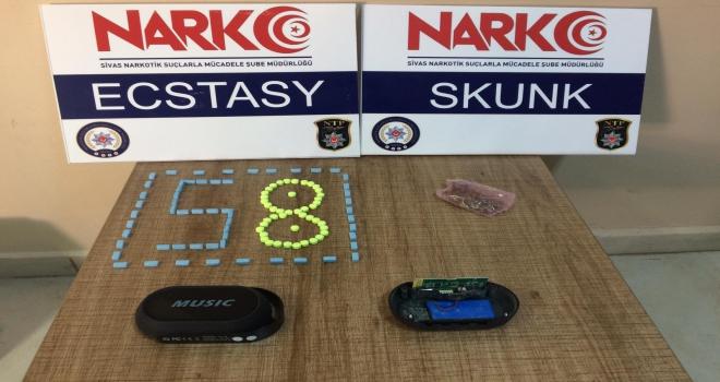 Sivasta uyuşturucu operasyonlarında 4 kişi tutuklandı