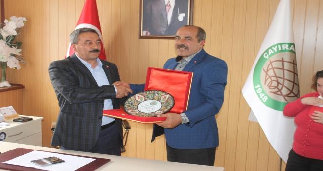 Çayıralan Belediye Başkanı Codar göreve başladı