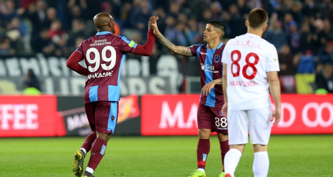 Trabzonspordan bol gollü galibiyet
