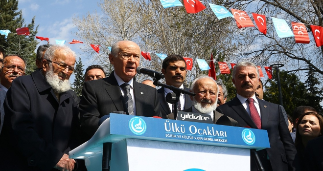MHP Genel Başkan Bahçeli: Alparslan Türkeşin hatırasına her daim sahip çıkacağız