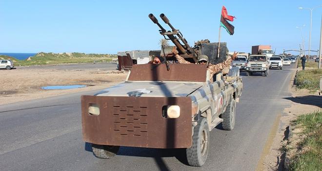 Libyanın başkenti Trablus yakınlarında şiddetli çatışma