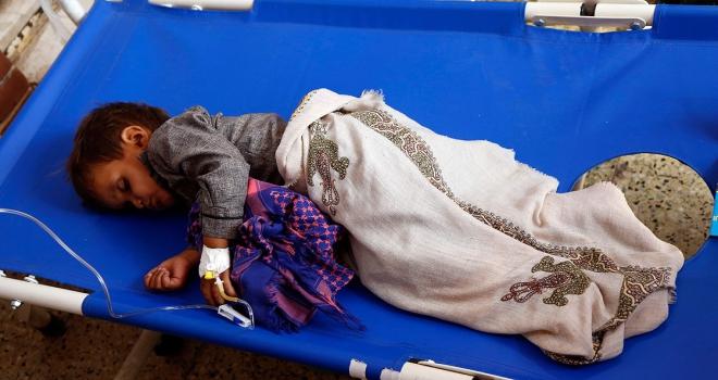 Yemende kolera salgını nedeniyle olağanüstü hal ilan edildi