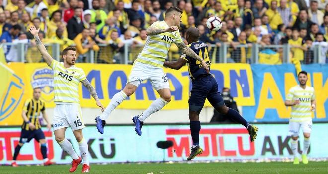 Fenerbahçe Ankaradan 1 puanla ayrıldı