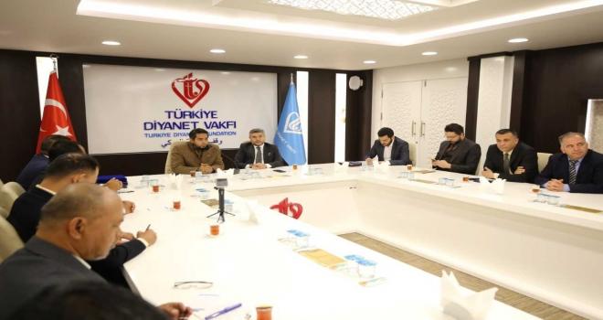 Türkiye Diyanet Vakfı ile MAPİM arasında iş birliği protokolü