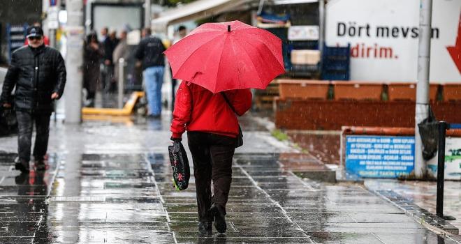 Meteorolojiden Ege ve Güneydoğu Anadoluda kuvvetli yağış uyarısı
