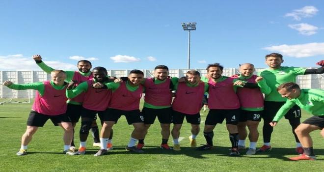 Konyasporda Sivasspor maçı hazırlıkları
