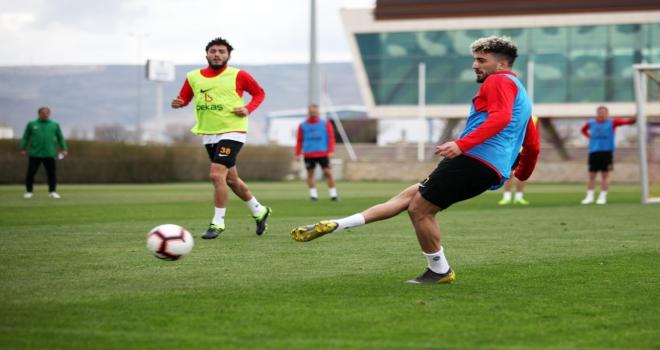 Kayserispor, MKE Ankaragücü maçı hazırlıklarını sürdürdü
