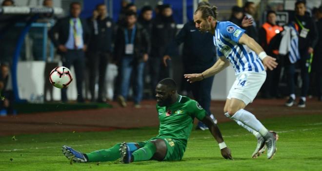 Erzurumspor geri düştüğü maçı kazanmasını bildi