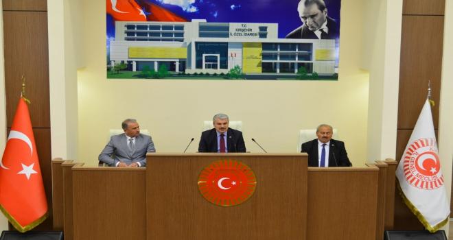 İl Genel Meclisi üyeleri kente önemli hizmetler verecek