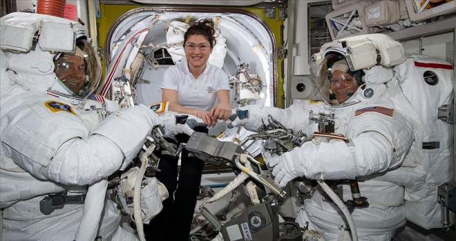 Amerikalı kadın astronot Koch UUİde 11 ay kalacak