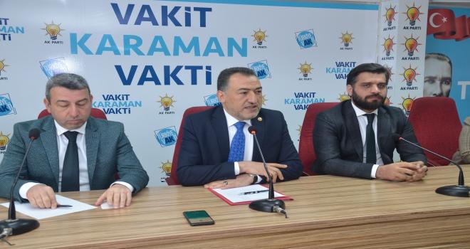 Karaman AK Parti teşkilatında temayül yoklaması