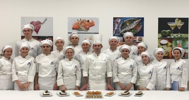 Fransa'nın ünlü pastacılık okulundan Yeditepe Üniveritesinde workshop