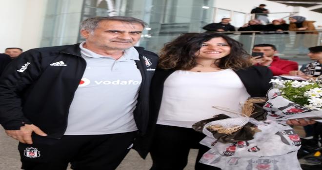 Beşiktaş kafilesi Sivasa geldi