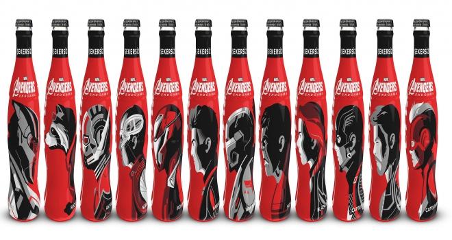 Coca Cola ile Marvelden iş birliği