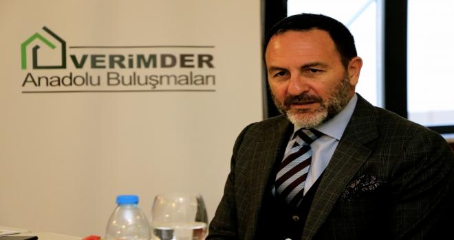 Bakan Dönmez, Altın Madencileri Derneği Başkanı Yüceli kabul etti