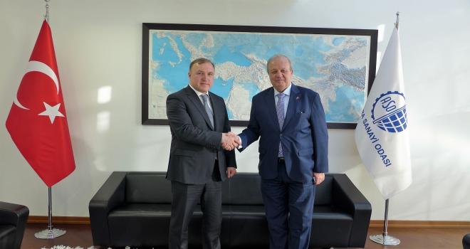 Adıge Cumhurbaşkanı Kumpilovdan ASOya ziyaret