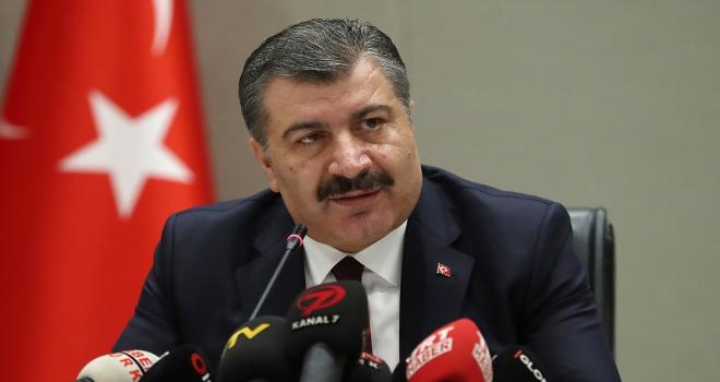 Sağlık Bakanı Koca: Türkiyenin Beslenme Haritasıyla ilgili çalışmalarda sona gelindi
