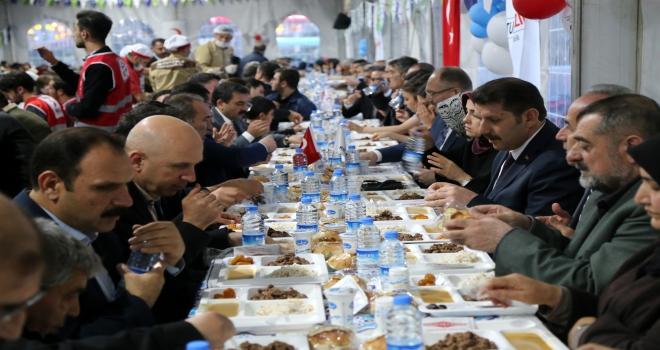Sivasta 2 bin 500 kişiye iftar