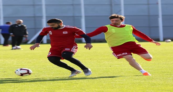 Sivassporda Göztepe maçı hazırlıkları