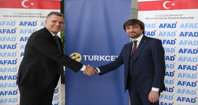 Turkcellin milli epostası AFAD ile yola çıktı