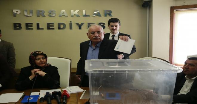 Pursaklar Belediye Başkanı, Çetin oldu