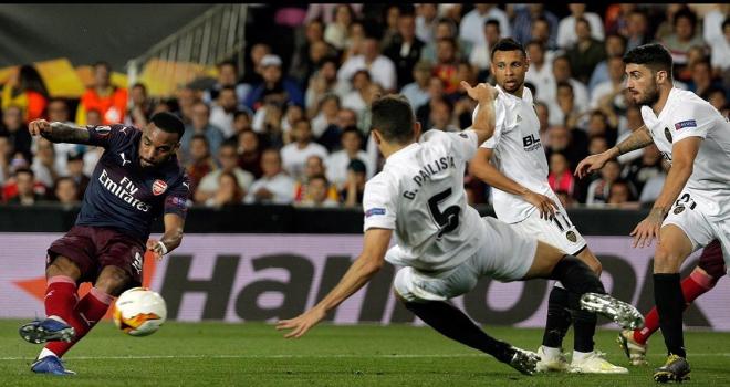 Arsenal, UEFA Avrupa Liginde finalde