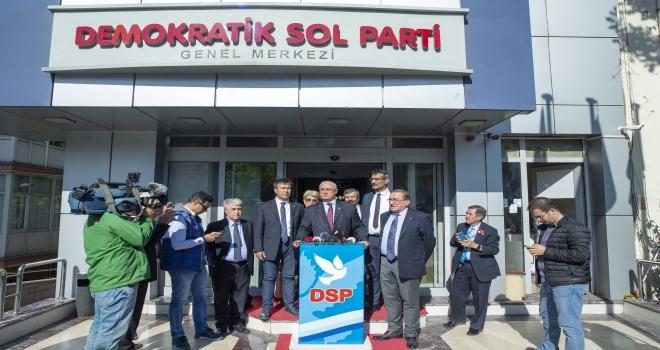 DSP İstanbulda aday çıkarmama kararı aldı