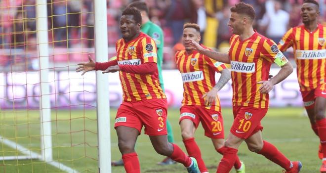 Kayserispor 2. yarıdaki gollerle güldü