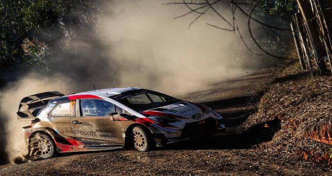 WRC Şili Rallisinin galibi Toyota oldu