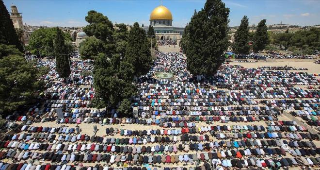 Filistinli alimlerden Yüzyılın Anlaşmasına karşı Filistin halkına destek çağrısı