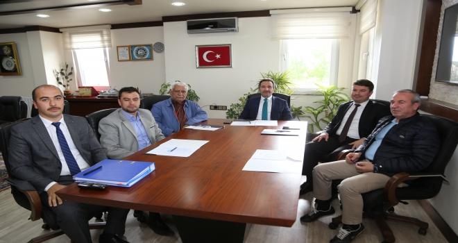 Aksaray OSBde yönetim kurulu toplandı