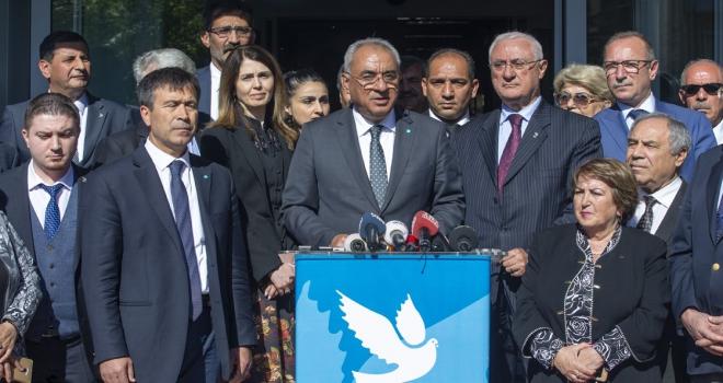 DSP, İstanbulda yeni bir aday göstermemeyi kararlaştırmıştır