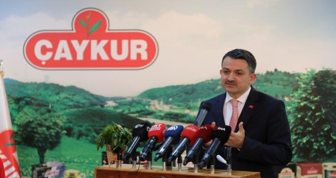 Tarım ve Orman Bakanı Pakdemirli: İnşallah çok güzel bir çay sezonu yaşayacağız