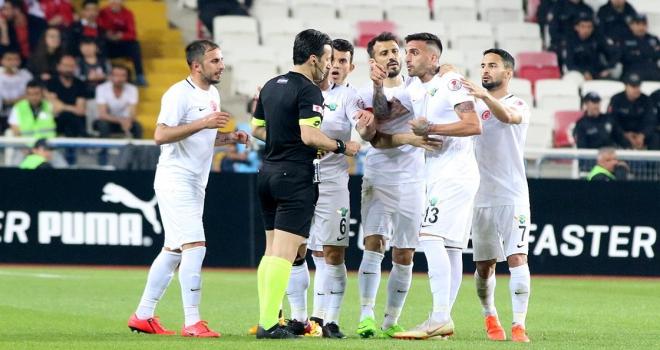 Sivassporda MKE Ankaragücü maçı hazırlıkları