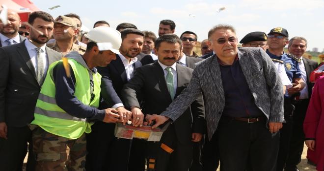 Nevşehir Hayvan Kasabasının temeli atıldı