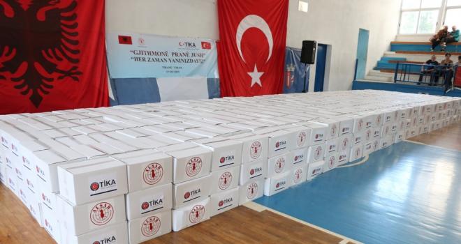 TİKAdan Arnavutlukta ihtiyaç sahiplerine ramazan yardımı