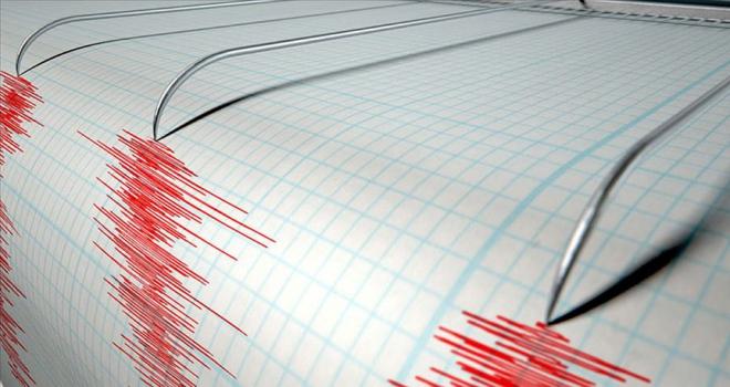 Marmara Denizinde 3,9 büyüklüğünde deprem