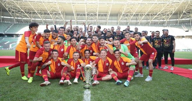 21 Yaş Altı Futbol Liginde Süper Kupa Galatasarayın