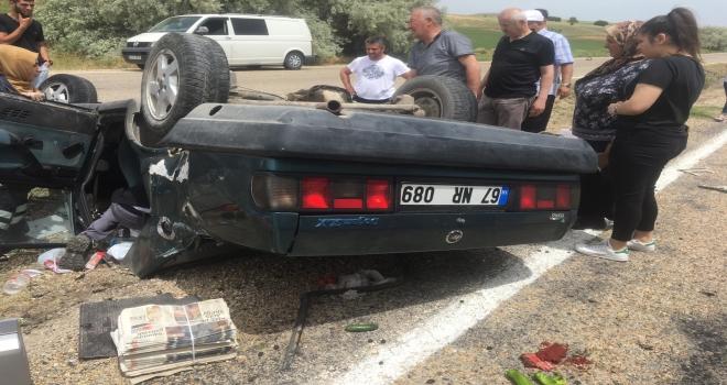 Kırşehirdeki trafik kazası