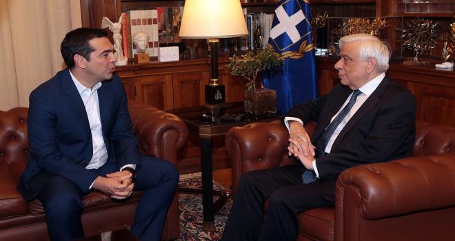 Yunanistan Başbakanı Çipras erken seçim talebini Pavlopoulosa iletti