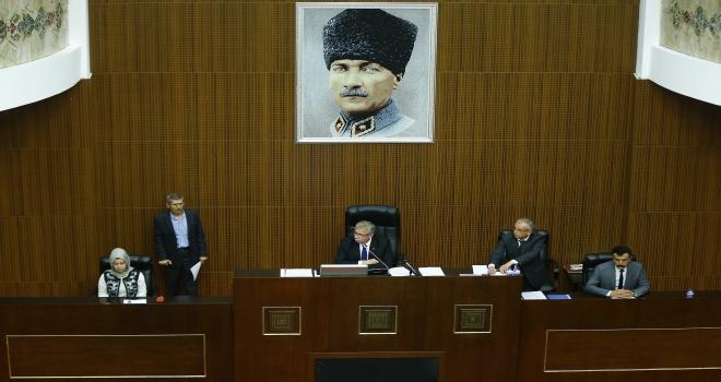 Ankara Büyükşehir Belediye Meclisi Toplantısı