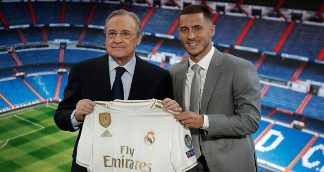 Real Madrid, en pahalı transferi Hazardı tanıttı
