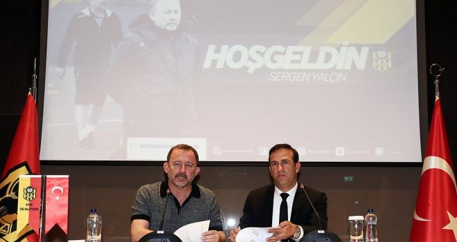 Sergen Yalçın resmen Yeni Malatyasporda