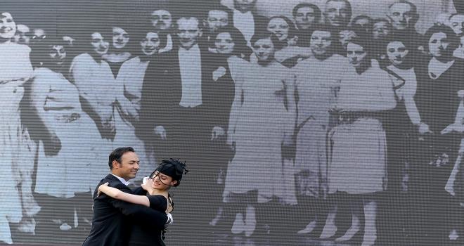 Başkentte Atatürk Giysi Koleksiyonu sergilendi